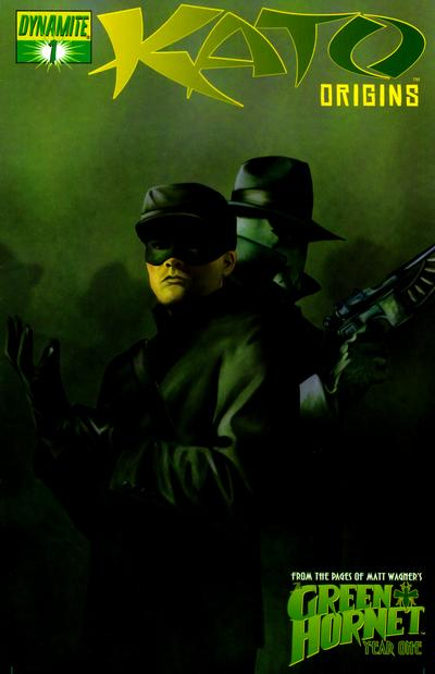 Cover for Kato Origins (Dynamite Entertainment, 2010 series) #1 [Worley Vintage Art]