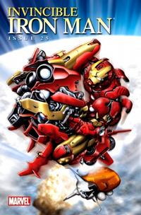 Cover for Invincible Iron Man (Marvel, 2008 series) #25