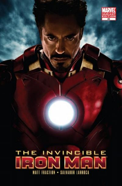 Cover for Invincible Iron Man (2008 series) #25