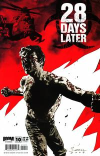 Cover Thumbnail for 28 Days Later (Boom! Studios, 2009 series) #10