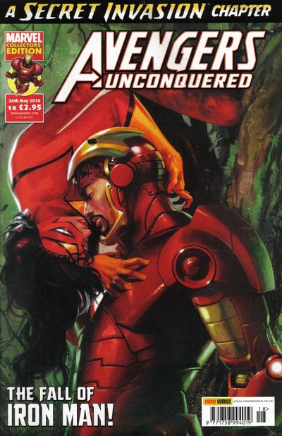Cover for Avengers Unconquered (Panini UK, 2009 series) #18