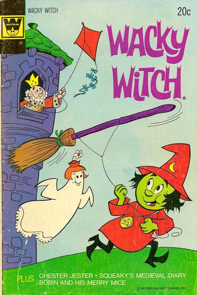 Cover for Wacky Witch (Western, 1971 series) #14 [Gold Key Variant]