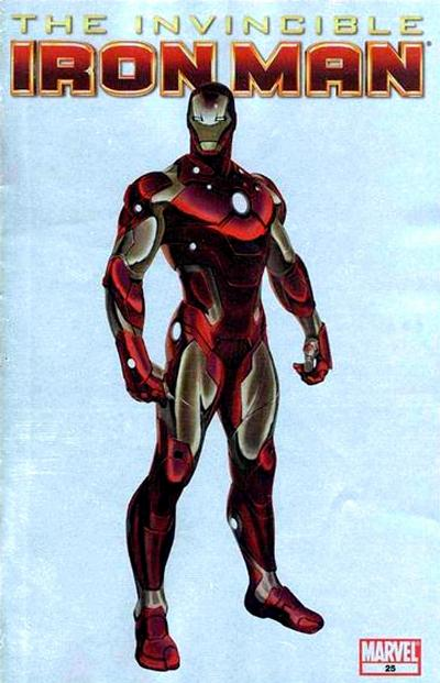 Cover for Invincible Iron Man (2008 series) #25 [Motor City Comic Con Variant Edition]