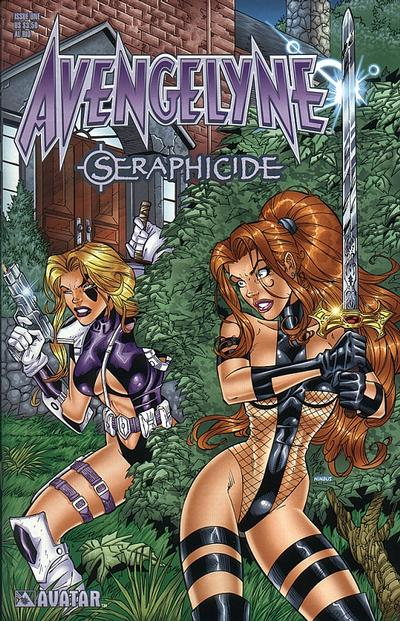 Cover for Avengelyne: Seraphicide (Avatar Press, 2001 series) #1 [Martin]