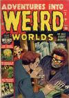 Cover for Adventures Into Weird Worlds (Marvel, 1952 series) #6