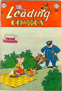 Cover for Leading Screen Comics (DC, 1950 series) #68