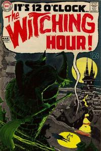 Cover for The Witching Hour (DC, 1969 series) #1