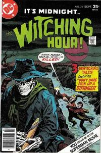 Cover Thumbnail for The Witching Hour (DC, 1969 series) #73