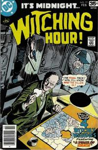 Cover Thumbnail for The Witching Hour (DC, 1969 series) #77