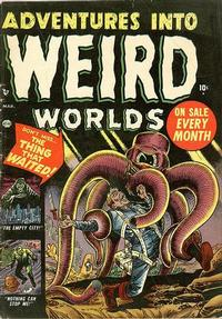 Cover Thumbnail for Adventures Into Weird Worlds (Marvel, 1952 series) #3