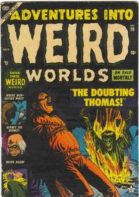 Cover Thumbnail for Adventures Into Weird Worlds (Marvel, 1952 series) #20