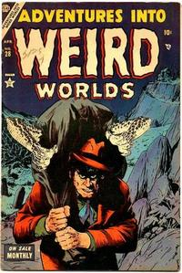 Cover Thumbnail for Adventures Into Weird Worlds (Marvel, 1952 series) #28