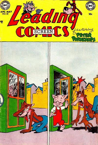 Cover for Leading Screen Comics (DC, 1950 series) #60