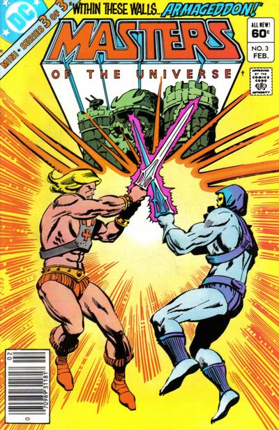 Cover for Masters of the Universe (DC, 1982 series) #3 [Newsstand]