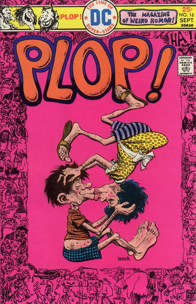 Cover for Plop! (DC, 1973 series) #16