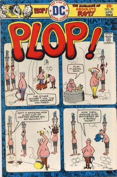 Cover for Plop! (DC, 1973 series) #20