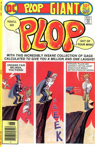 Cover for Plop! (DC, 1973 series) #21