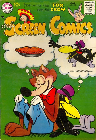 Cover for Real Screen Comics (DC, 1945 series) #120
