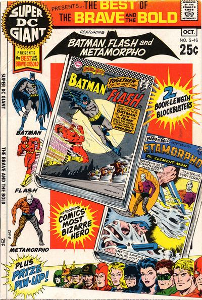 Cover for Super DC Giant (DC, 1970 series) #S-16