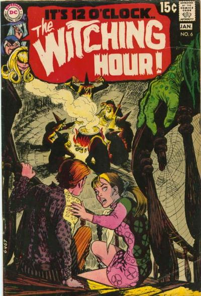 Cover for The Witching Hour (DC, 1969 series) #6