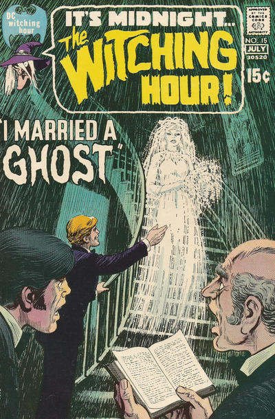 Cover for The Witching Hour (1969 series) #15