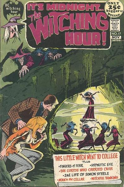 Cover for The Witching Hour (1969 series) #17