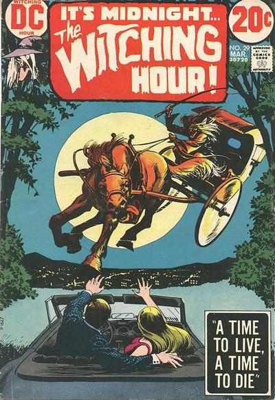 Cover for The Witching Hour (1969 series) #29