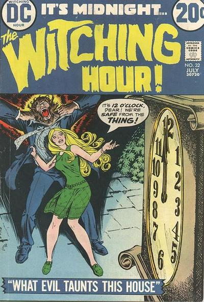 Cover for The Witching Hour (1969 series) #32