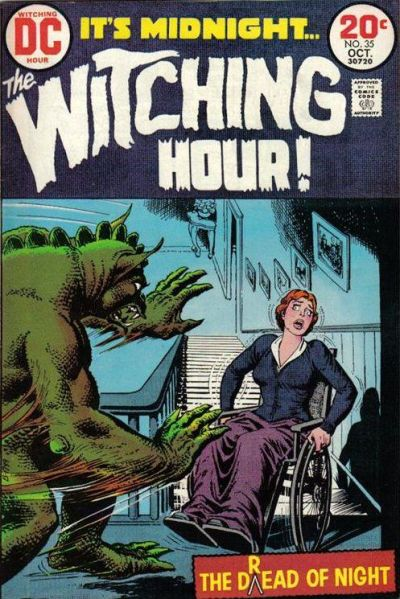 Cover for The Witching Hour (1969 series) #35