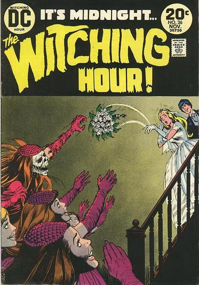 Cover for The Witching Hour (1969 series) #36