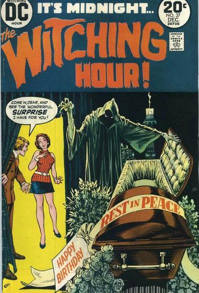 Cover for The Witching Hour (1969 series) #37