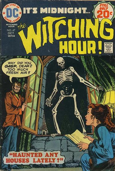 Cover for The Witching Hour (1969 series) #47