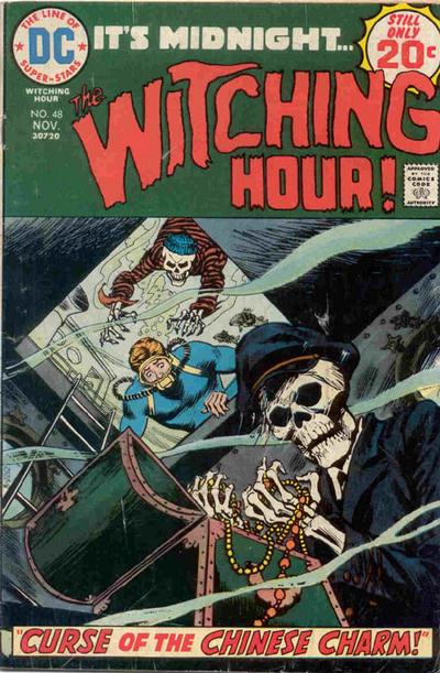 Cover for The Witching Hour (1969 series) #48