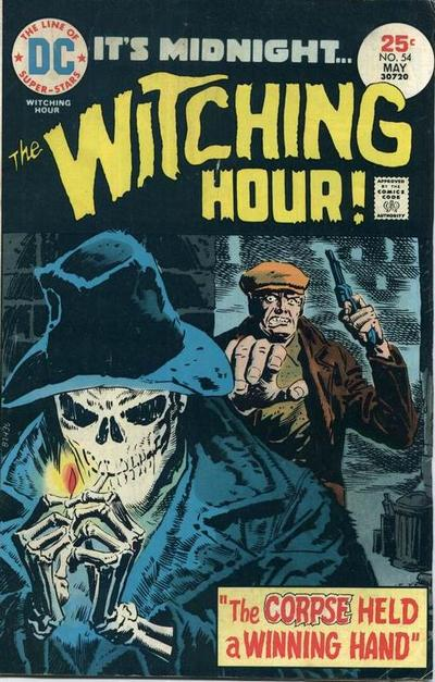 Cover for The Witching Hour (1969 series) #54