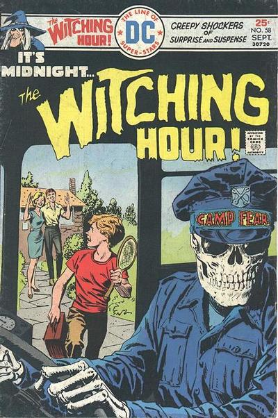 Cover for The Witching Hour (DC, 1969 series) #58