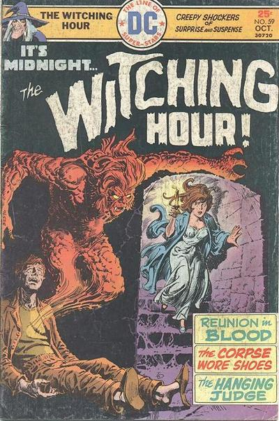 Cover for The Witching Hour (DC, 1969 series) #59