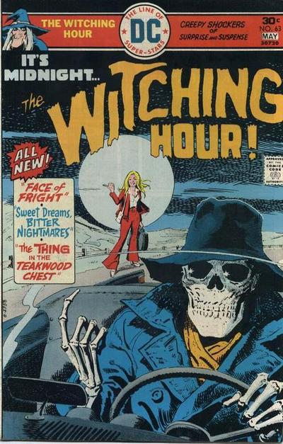 Cover for The Witching Hour (1969 series) #63