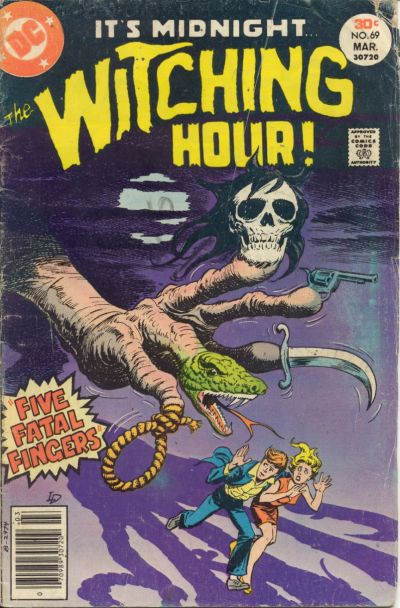 Cover for The Witching Hour (DC, 1969 series) #69