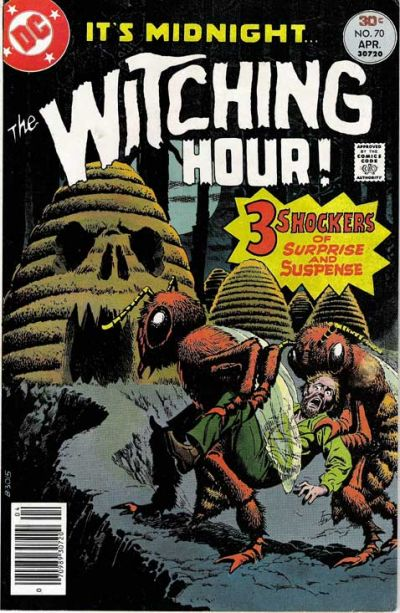 Cover for The Witching Hour (1969 series) #70