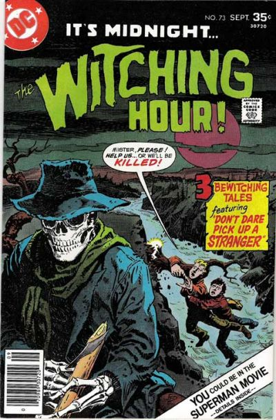 Cover for The Witching Hour (DC, 1969 series) #73