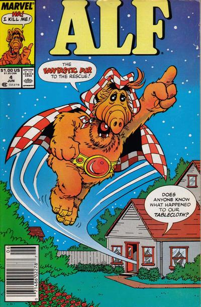Cover for ALF (Marvel, 1988 series) #4