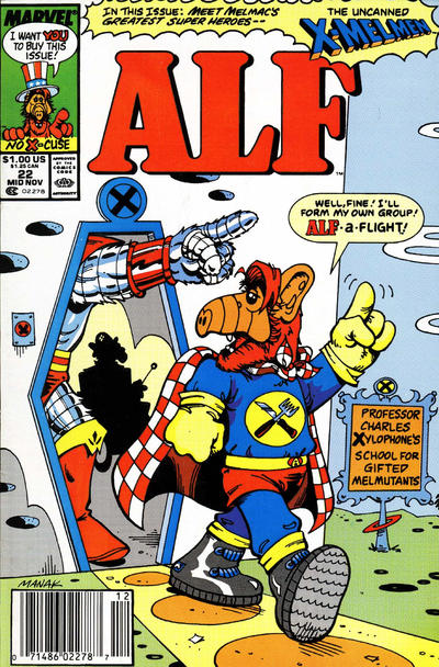Cover for ALF (Marvel, 1988 series) #22 [Direct]
