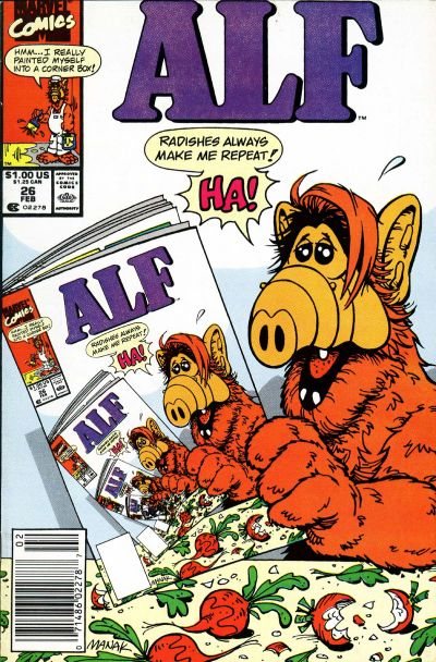 Cover for ALF (Marvel, 1988 series) #26