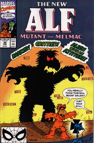 Cover for ALF (Marvel, 1988 series) #38