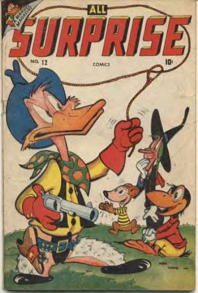 Cover for All Surprise Comics (1943 series) #12