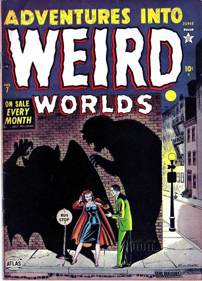 Cover for Adventures Into Weird Worlds (1952 series) #7
