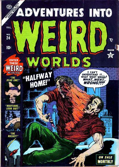Cover for Adventures Into Weird Worlds (Marvel, 1952 series) #24