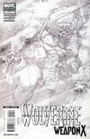 Cover Thumbnail for Wolverine Weapon X (2009 series) #1 [Variant Edition - Sketch Cover]