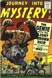 Cover Thumbnail for Journey Into Mystery (Marvel, 1952 series) #76 [Black Circle Price Field]