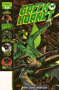 Cover Thumbnail for Green Hornet [Free Comic Book Day Edition] (Dynamite Entertainment, 2010 series) #1
